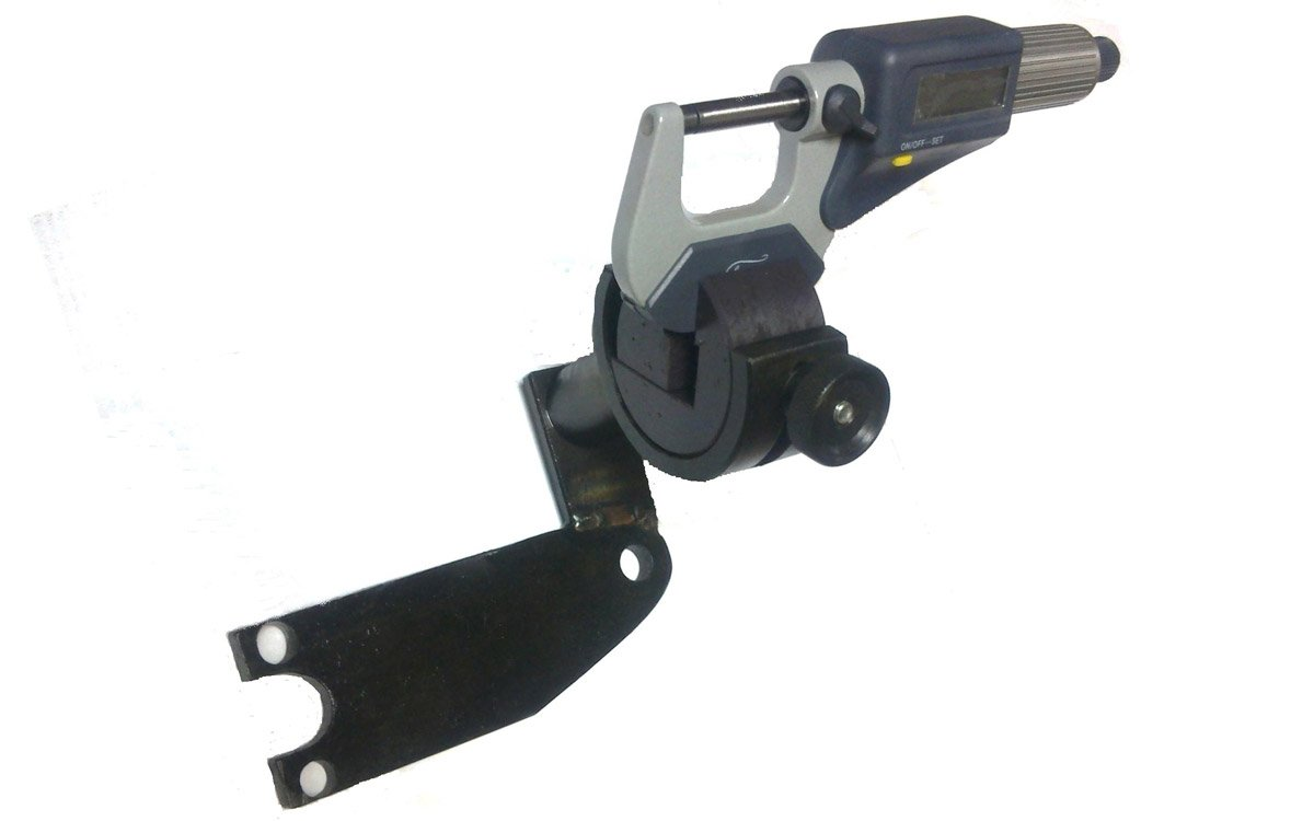 "Universal clamp for micrometer as an addition to the jig produced by ""DIMED"""