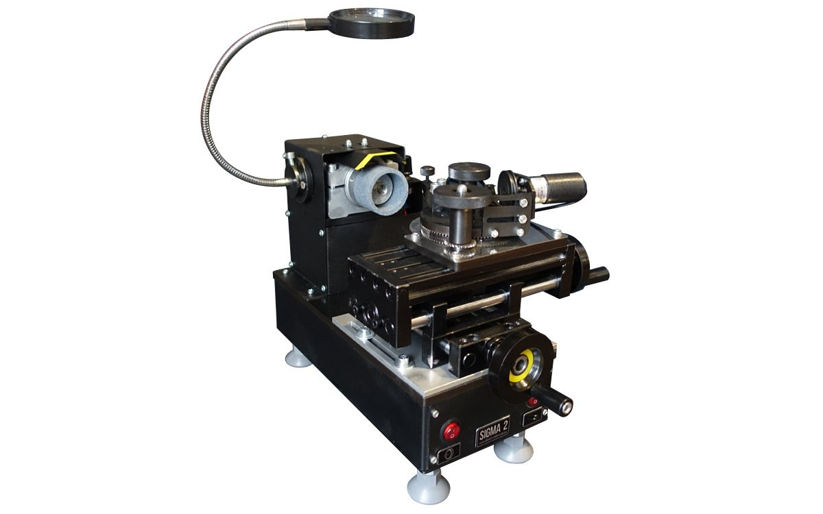 SIGMA-2 grinding, lapping and finishing machine